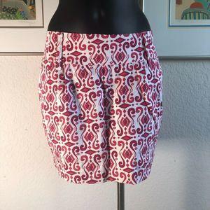 Guess Women's Round Skirt Geometric Size 28